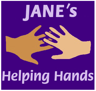 Jane's Helpibng Hands Logo